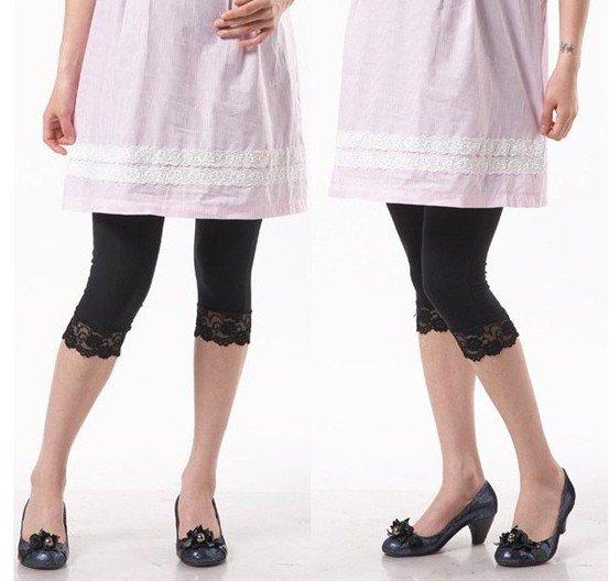 Pregnant Woman Render Pants Ice Silk Trousers Leggings T10