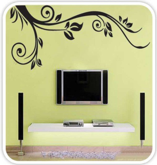 DIY Removable Wall Art Deco Decal Stickers Flower WB61