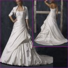 Maggie Sottero Strapless/A-Line/wedding dress/YY024