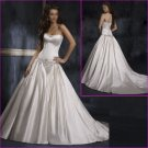 wholesale Satin/Strapless/A-Line/wedding dress YY025