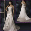Free Shipping!!2010 New Style Strapless/A-Line/wedding dress/YY026