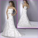 2010 New Style/Strapless/A-Line /wedding dress YY028