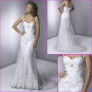 Free Shipping!!Elegant Cap Sleeves/Spaghetti Strap/A-Line/Wedding Dress/YY033
