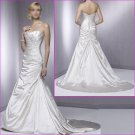 2010 New Style Strapless/A-Line/wedding dress/YY037