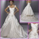 Maggie Sottero Cap Sleeves/A-Line/wedding dress/wedding gown/YY040