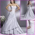 Elegant Strapless/A-Line/Taffeta/wedding dress/wedding gown/YY041
