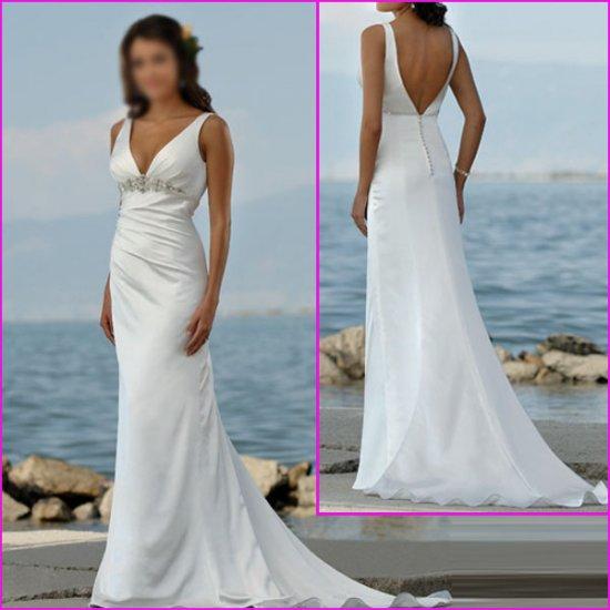 Free Shipping!!Engaging Sweetheart Neckline/A-Line/Satin/Wedding Dress/Wedding Gown/YY050