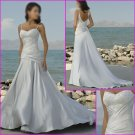 Free shipping !!2010 New designs/Spaghetti Strap/Wedding Gown/Wedding Gown/YY051