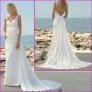 Free Shipping!!2010 New style/Spaghetti Strap/A-Line/wedding dress/YY053