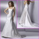 Free Shipping!!Engaging Halter/Satin/A-Line/wedding dress/YY055