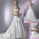 Free shipping!!2010 New Style/Strapless/A-Line/Taffeta/Wedding Dress YY056
