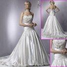 Free shipping!!2010 New Style/Strapless/A-Line/Taffeta/Wedding Dress YY056