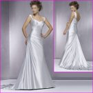 Free shipping!!2010 New style/Spaghetti Strap/A-Line/Wedding Dress/YY058