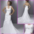 Free Shipping!!2010 New  Style/Mermaid/Satin&Lace/wedding dress YY059