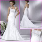 2010 New Style/Halter/Taffeta/A-Line/Wedding dress YY061