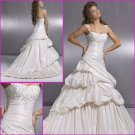 Engaging Detachable/Cap Sleeves/A-Line/Taffeta/wedding dress YY063