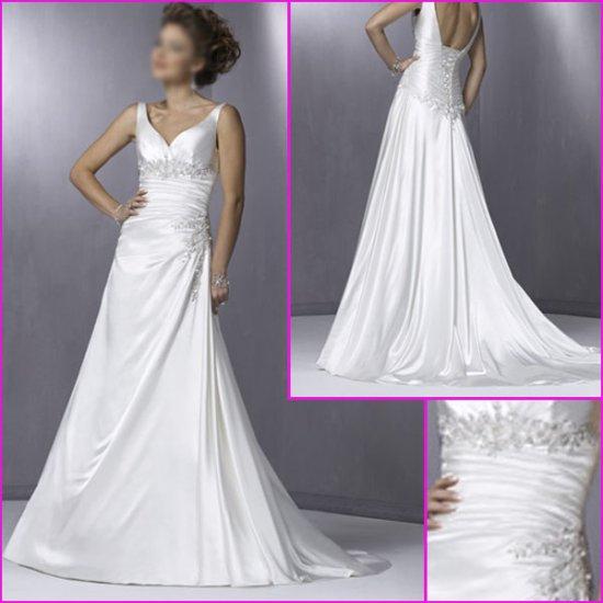 Free shipping!! Elegatnt/Sweetheart Neckline/A-Line/wedding dress/YY064