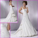 Free Shipping/Recherche/Detachable/Halter/Taffeta/A-Line/Wedding dress YY068
