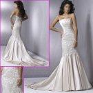 Free Shipping !2010 New Style/Halter/Satin/Mermaid/Wedding Dress YY072
