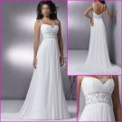 Free Shipping!!Maggie Sottero/Spaghetti Strap/Chiffon/A-Line/Wedding Dress/YY073
