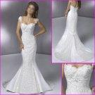 Free Shipping!!Elegnat/Detachable/Cap Sleeves/Mermaid/Wedding Dress YY074