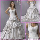 2010 New Style/Maggie Sottero/Satin&Lace/A-Line/Wedding Dress YY076