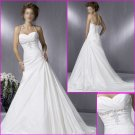 Free Shipping!2010 New Style/Halter/Taffeta/A-Line/Wedding Dress YY077