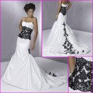 Free Shipping!!2010 New Style/Maggie Sottero/Strapless/A-Line/Taffeta/Wedding Dress/YY080