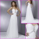 Freeshipping!!2010 New Style/Maggie Sottero/Sweetheart Neckline/A-Line/Chiffon/Wedding Dress/YY082