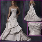 2010 New Style/Maggie Sottero/Strapless/A-Line/Satin/Wedding Dress YY084
