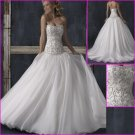 Free Shipping!2010 New Style/Sweetheart Neckine/Satin&Organza/A-Line/Wedding Dress/YY086