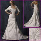 Free Shipping!!Elegnat Strapless/A-Line/Taffeta/wedding gowns/YY087