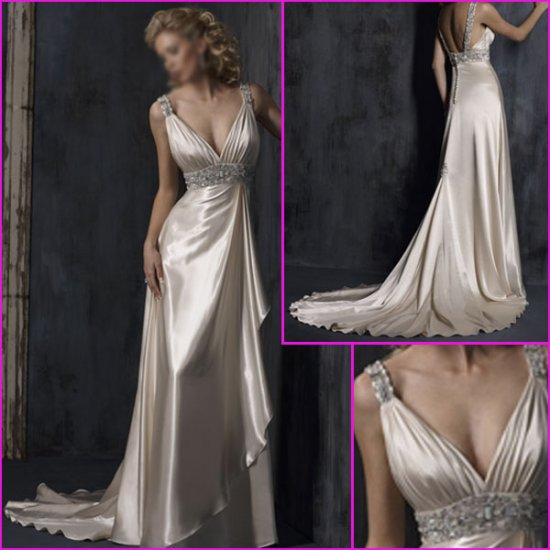 Free Shipping !2010 New Style/Maggie Sottero/Sweetheart Neckline/A-Line/Wedding Dress YY088