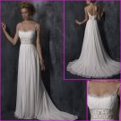 Free shipping!! 2010 New Style/Maggie Sottero/Spaghetti Strap/A-Line/Wedding Dress/YY090