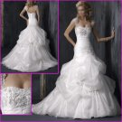 New desgin/Elegant/Cap Sleeves/A-Line/bridal wedding gown/YY091