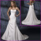 2010 New Style/Strapless/A-Line/Taffeta/wedding dress/YY097