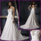 Free Shipping!!2010 New Style/Strapless/A-Line/Wedding Dress/YY099