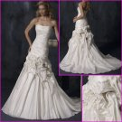 Hot selling/Strapless/Taffeta/Princess/A-Line/wedding dress/YY106