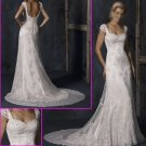 Elegant/Maggie Sottero/Cap Sleeves/Lace&Satin/Princess/A-Line/Wedding Dress/YY109