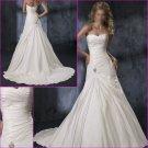 Free Shipping!Elegant/Maggie Sottero/Strapless/A-Line/Taffeta/Wedding Dress/YY121