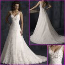 Hot Selling/Sweetheart Neckline/Spaghetti Strap/Appliques/A-Line/wedding dress/YY122