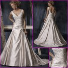 Hot Selling/Sweetheart Neckline/A-Line/Appliques/wedding dress/YY124