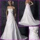 Hot Selling/Beautiful/Taffeta/Strapless/A-Line/Princess/Wedding dress/YY125