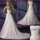 Free Shipping!! Hot Selling/Strapless/Appliques/A-Line/Wedding Dress/YY128