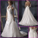 Hot Selling/Halter/Taffeta/Sweetheart Neckline/A-Line/Pricness/wedding gown/YY1131