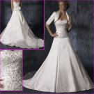 Hot Selling/Elegant/Satin/Strapless/A-Line/wedding dress/YY133