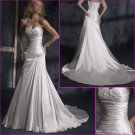 Inviting/Strapless/Maggie Sottero/Satin/A-Line/Wedding Dress/YY138
