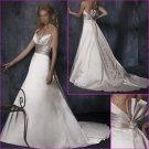 Hot selling/Spaghetti Strap/Sweetheat Neckline/A-Line/wedding dress/YY139