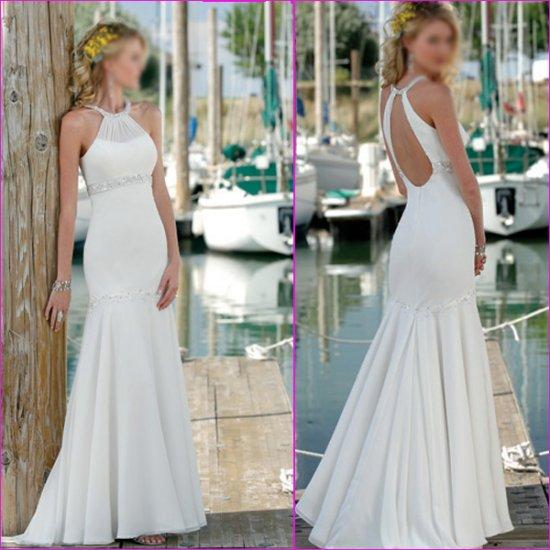 Free Shipping!!Recherche/Halter/Mermaid/wedding dress/YY144
