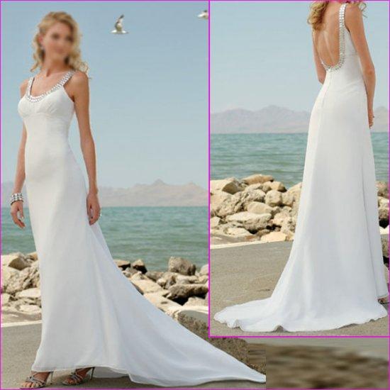 Free Shipping !! Decent/Halter/Backless/A-Line/wedding dress/YY145